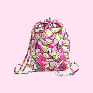 Handmade backpack in pink for your child from Unnati