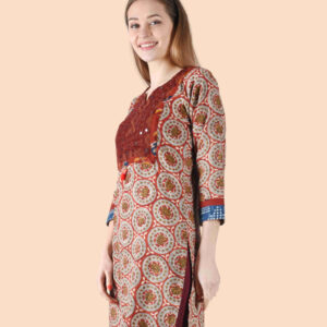 """""""Indian Summer – Dusk (Rust) for your summer collection from Unnati """""""