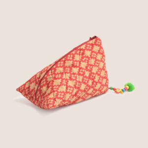 Samosa Pouch – Red/Mud