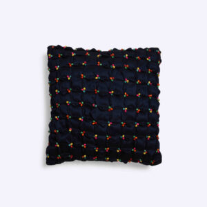 Wooden Bead Cushion Cover